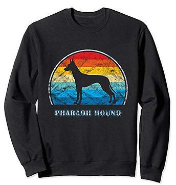 Vintage-Design-Sweatshirt-Pharaoh-Hound.