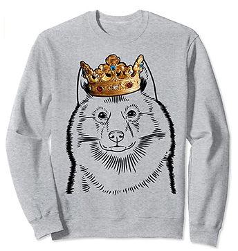 Finnish-Spitz-Crown-Portrait-Sweatshirt.