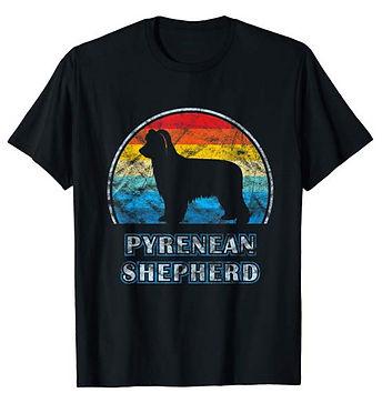 Vintage-Design-tshirt-Pyrenean-Shepherd.