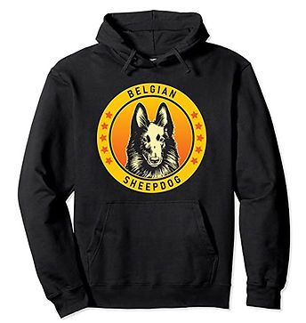 Belgian-Sheepdog-Portrait-Yellow-Hoodie.