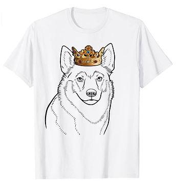 Swedish-Vallhund-Crown-Portrait-tshirt.j