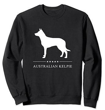 Australian-Kelpie-White-Stars-Sweatshirt