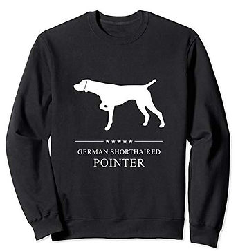 White-Stars-Sweatshirt-German-Shorthaire