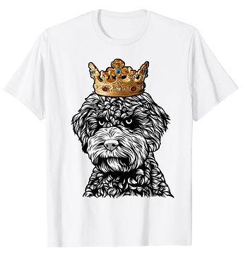 Lagotto-Romagnolo-Crown-Portrait-tshirt.