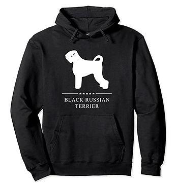 Black-Russian-Terrier-White-Stars-Hoodie