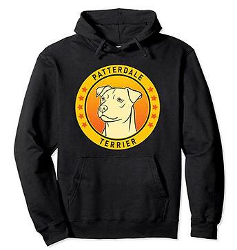 Patterdale-Terrier-Portrait-Yellow-Hoodi