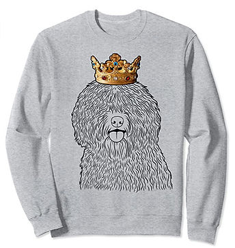 Spanish-Water-Dog-Crown-Portrait-Sweatsh