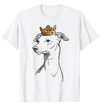 Italian-Greyhound-Crown-Portrait-tshirt.