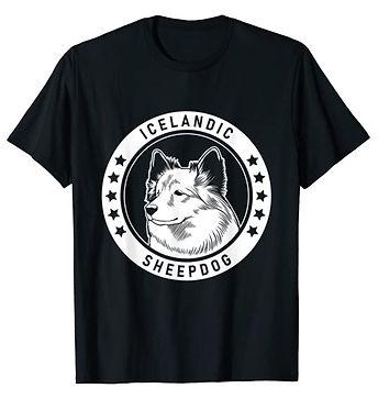 Icelandic-Sheepdog-Portrait-BW-tshirt.jp