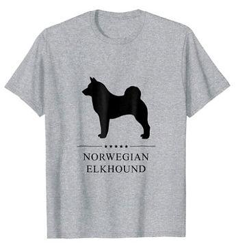 Norwegian-Elkhound-Black-Stars-tshirt.jp