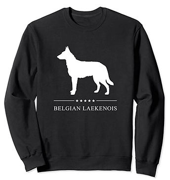Belgian-Laekenois-White-Stars-Sweatshirt