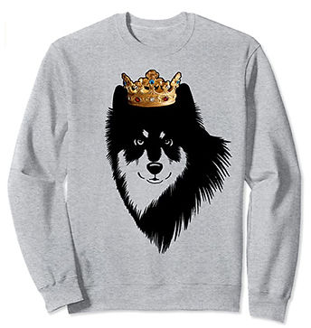 Finnish-Lapphund-Crown-Portrait-Sweatshi