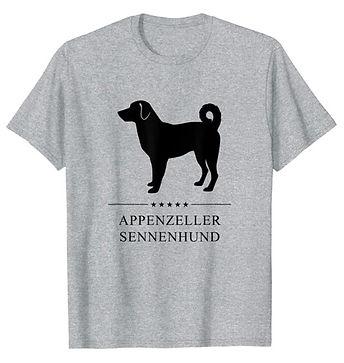 Appenzeller-Sennenhund-Black-Stars-tshir