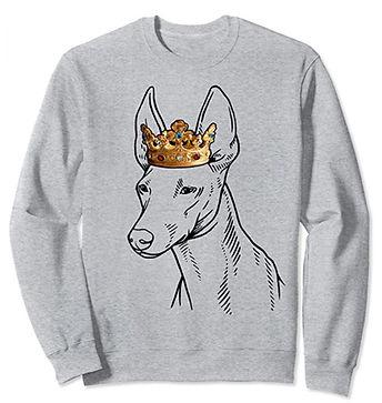 Cirneco-dellEtna-Crown-Portrait-Sweatshi