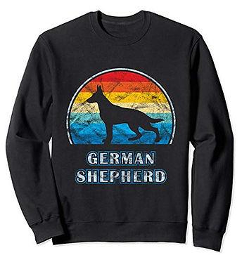 Vintage-Design-Sweatshirt-German-Shepher