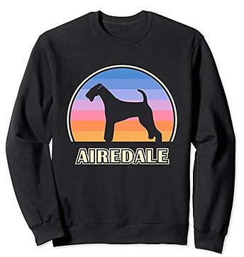 Vintage-Sunset-Sweatshirt-Airedale-Terri
