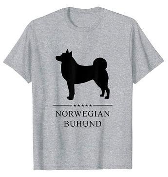 Norwegian-Buhund-Black-Stars-tshirt.jpg