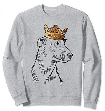 Irish-Wolfhound-Crown-Portrait-Sweatshir