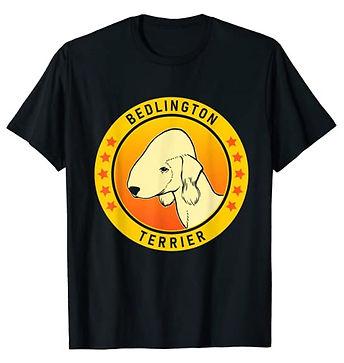 Bedlington-Terrier-Portrait-Yellow-tshir