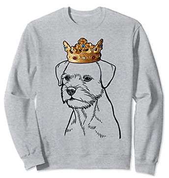 Border-Terrier-Crown-Portrait-Sweatshirt