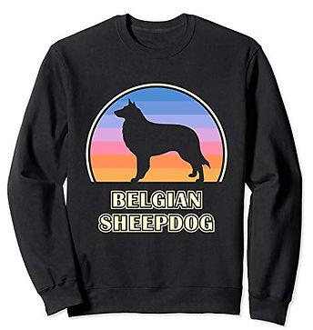 Vintage-Sunset-Sweatshirt-Belgian-Sheepd