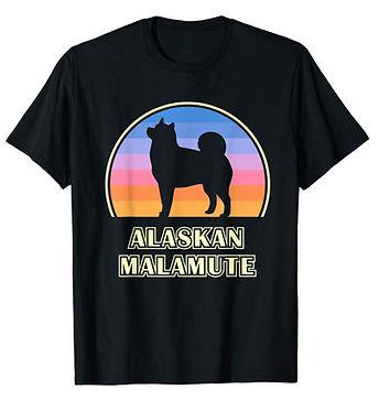 Vintage-Sunset-tshirt-Alaskan-Malamute.j