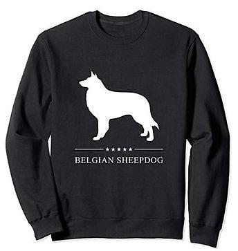 White-Stars-Sweatshirt-Belgian-Sheepdog.
