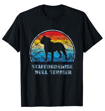 Vintage-Design-tshirt-Staffordshire-Bull