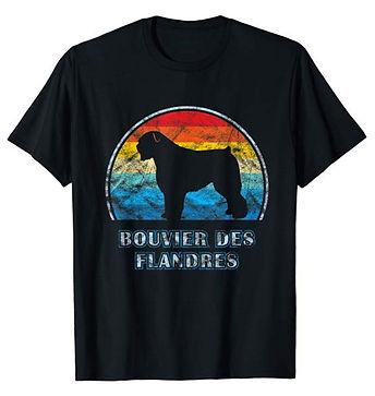 Vintage-Design-tshirt-Bouvier-des-Flandr