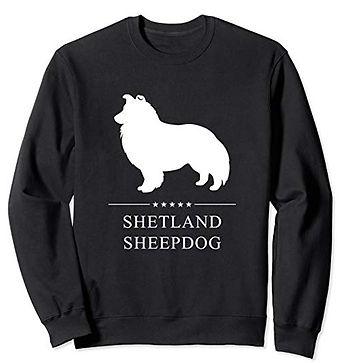 White-Stars-Sweatshirt-Shetland-Sheepdog