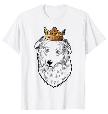 Pyrenean-Shepherd-Crown-Portrait-tshirt.