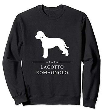 White-Stars-Sweatshirt-Lagotto-Romagnolo