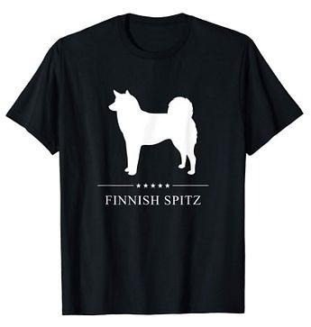 Finnish-Spitz-White-Stars-tshirt.jpg