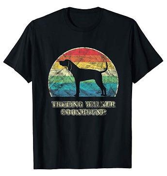 Vintage-Dog-tshirt-Treeing-Walker-Coonho
