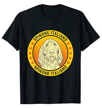 Spinone-Italiano-Portrait-Yellow-tshirt.
