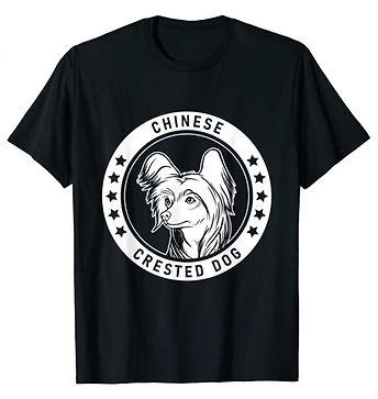 Chinese-Crested-Dog-Portrait-BW-tshirt.j