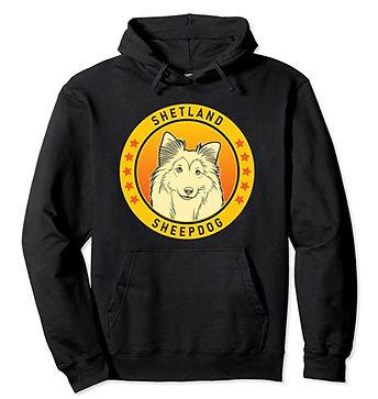 Shetland-Sheepdog-Portrait-Yellow-Hoodie