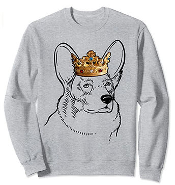 Cardigan-Welsh-Corgi-Crown-Portrait-Swea
