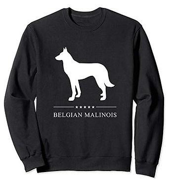White-Stars-Sweatshirt-Belgian-Malinois.