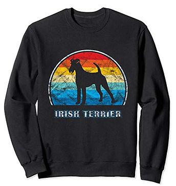 Vintage-Design-Sweatshirt-Irish-Terrier.
