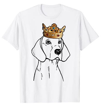 American-Foxhound-Crown-Portrait-tshirt.