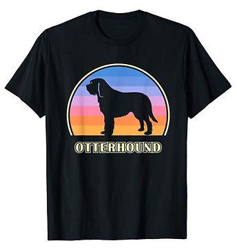 Vintage-Sunset-tshirt-Otterhound.jpg