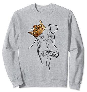 Wire-Fox-Terrier-Crown-Portrait-Sweatshi
