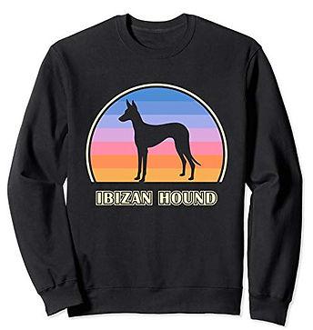 Vintage-Sunset-Sweatshirt-Ibizan-Hound.j
