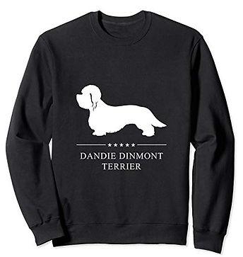 White-Stars-Sweatshirt-Dandie-Dinmont-Te