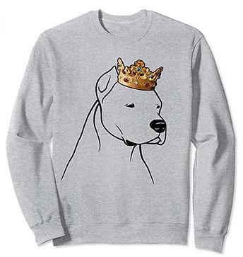 Dogo-Argentino-Crown-Portrait-Sweatshirt
