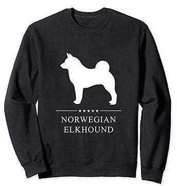 White-Stars-Sweatshirt-Norwegian-Elkhoun