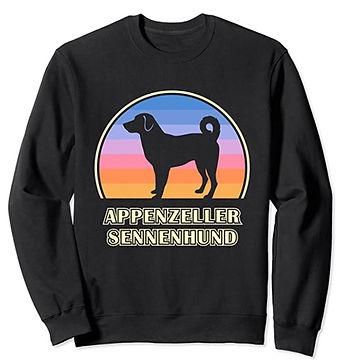 Appenzeller-Sennenhund-Vintage-Sunset-Sw