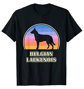 Belgian-Laekenois-Vintage-Sunset-tshirt.