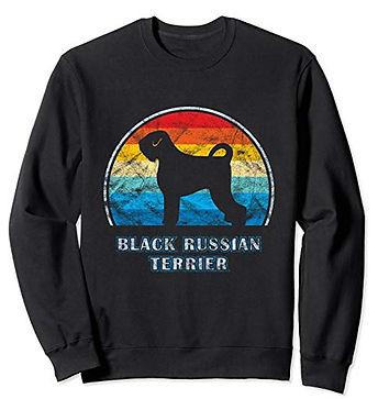Vintage-Design-Sweatshirt-Black-Russian-